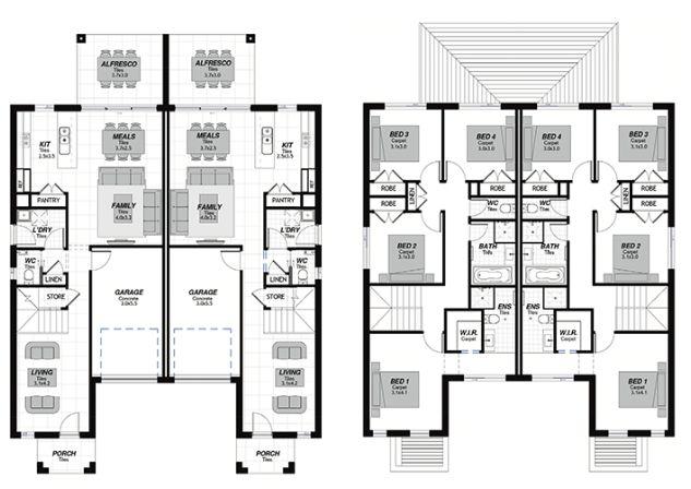 Проект двухэтажного жилого дома, дуплекс с летней террасой и гаражом для одного автомобиля сопровождается всеми необходимыми разделами для получения разрешения на строительство Архитектурные решен…