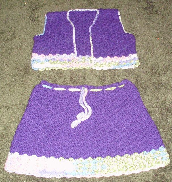 510 best skirts images on pinterest crochet clothes crochet ravelry deep purple 2 pc skirt set pattern by mommabear mintun free crochet pattern dt1010fo