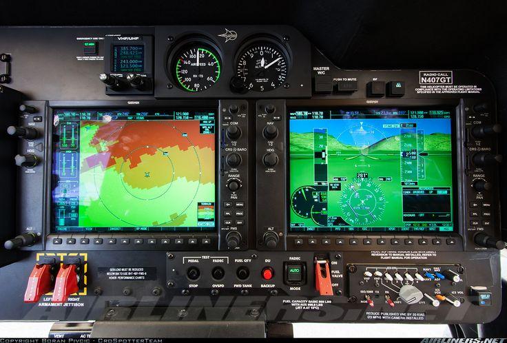Armed Bell 407 GT Glass Cockpit