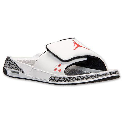24ccbb2e7799b ... Jordan Camp Slide 3 WhiteRedBlack - Color Light UP Nike Air Max LTD for  MEN Mens Light Up Custom Shoes Pinterest Air max ...