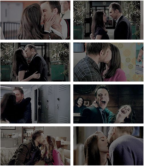 """Jeff and Annie, Community  """"I think…you should kiss me goodbye or you might regret it for the rest of your life."""""""