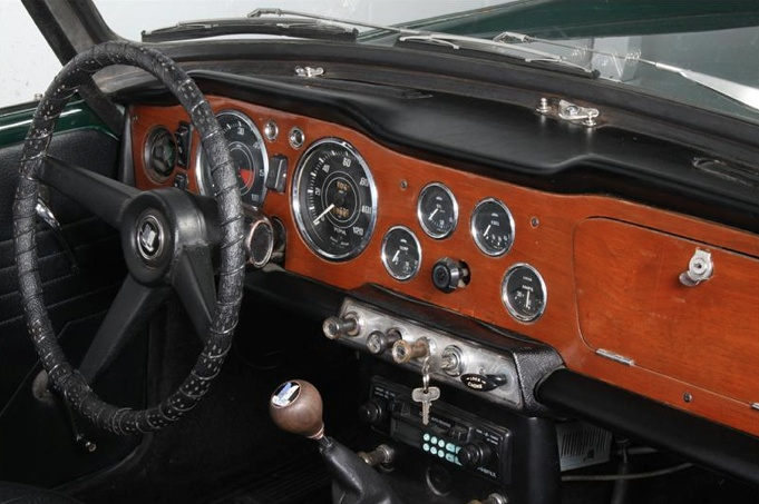 1964 Triumph TR4 dash | Bikes | Pinterest | Wheels
