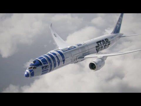 Star Wars: R2-D2 voa num Boeing 787 no Japão | Blogue alien's & android's