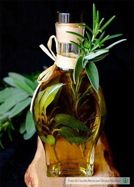 Olio aromatizzato fatto in casa | casadivita.despar.it