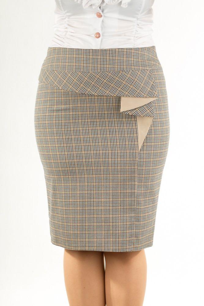 Юбка женская 566 | Женские юбки оптом от производителя (Россия)