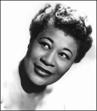 Ella Fitzgerald--probably my favorite female vocalist of all time.