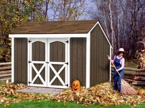 Find This Pin And More On Wood Sheds Wooden Shed Kits By Shedtownusa