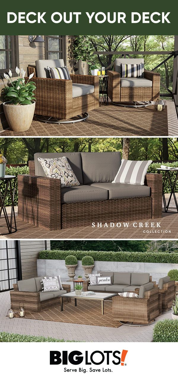 Enjoy A Summer S Day On The Patio Relaxing On The Shadow Creek