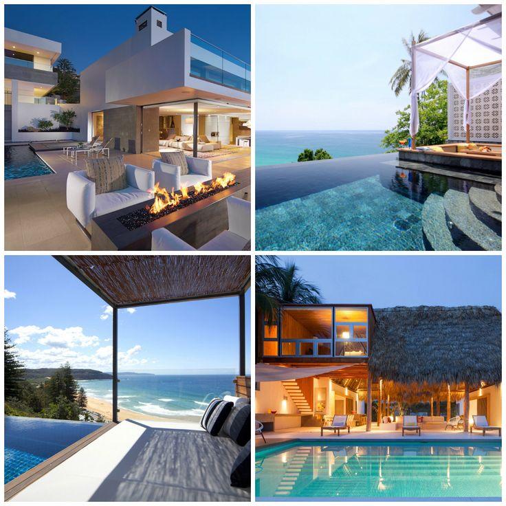 Leef Uniek | Inspiratie | Tuin *Strandhuizen met adembenemend uitzicht vol luxe!*