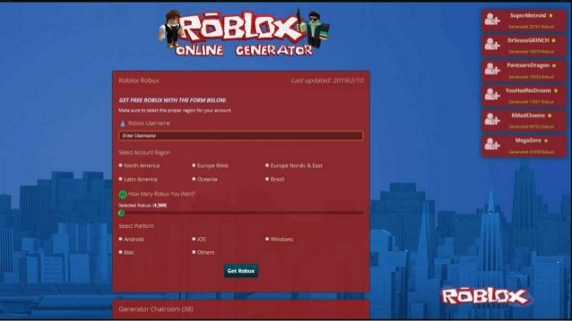 Roblox Robux Cheats and Hack Tools Online Generator 2019