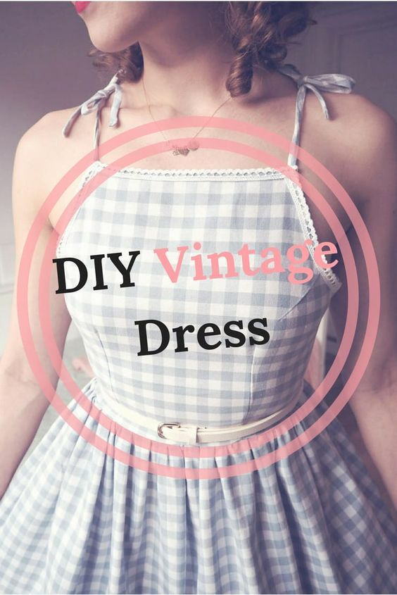 DIY Vintage Dress – Jennie Simopoulos