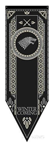 Game of Thrones House Stark Tournament Banner 19.25 x 60 in