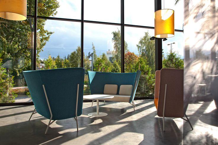 Aura sofas (design Mikko Laakkonen) at Inno showroom