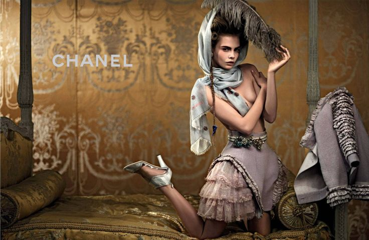 Cara for Chanel Cruise 2013 2