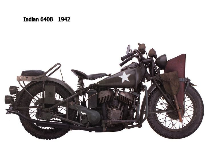 640B (1942) by Indian Motorcycle