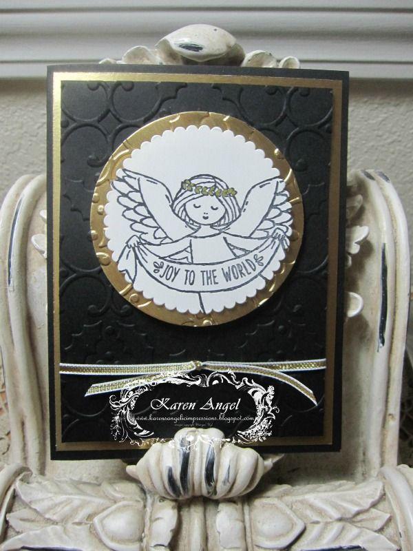 Wonder of Christmas www.karenangel.stampinup.net www.karensangelicimpressions.blogspot.com www.facebook.com/StampinUpwithKarenangel