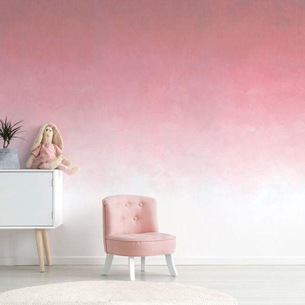 Adzif 10 Ft X 8 Ft Fading Rose Gradient Adhesive Wallpaper Fr154 E Ajv5 Rona Bedroom Wall Paint Bedroom Wall Colors Adhesive Wallpaper