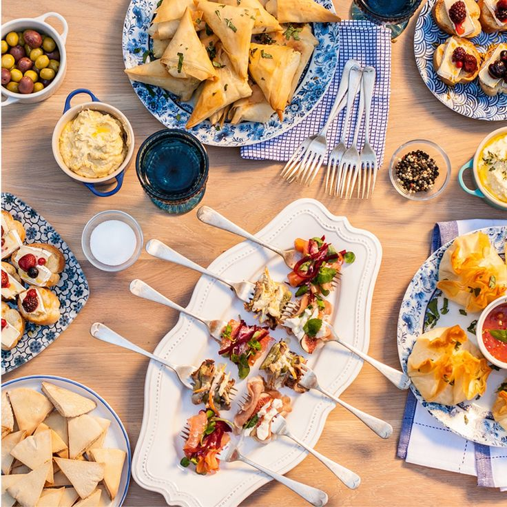 MILADYS | Food dps's in Inspirations magazine | Messa platter