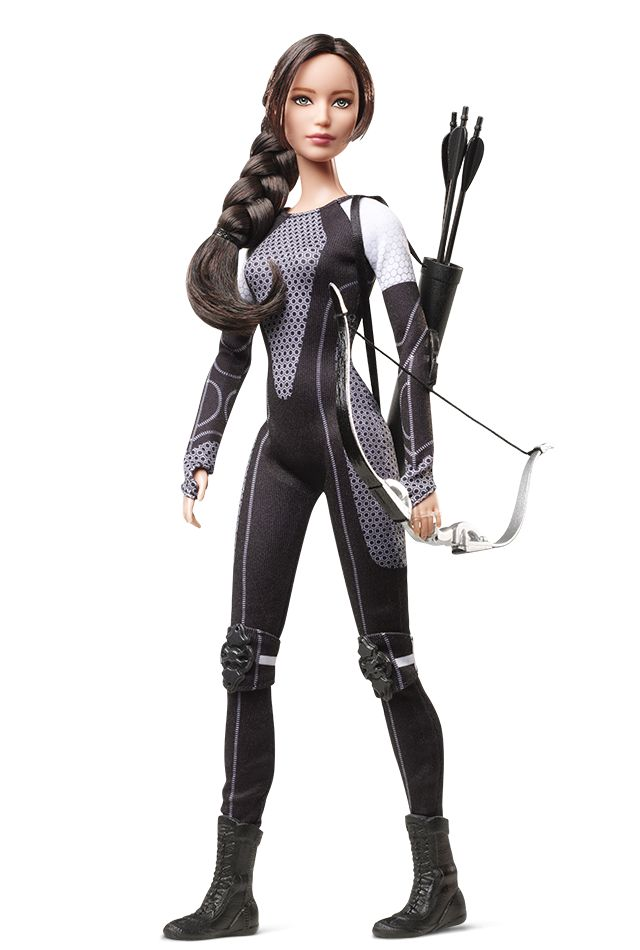 """""""You still have to wait 44 days until The Hunger Games: Catching Fire hits theaters, but in the meantime you can think up your own scenes with your favorite characters, as Katniss, Peeta, Effie and Finnick are all getting the Barbie doll treatment,"""" Entertainment Weekly reported."""