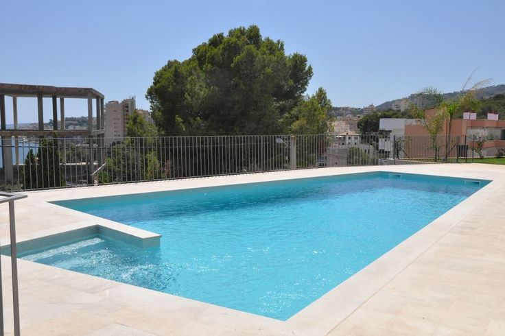 Cala Mayor/ San Agustin, Palma de Mallorca: Två sovrum i Cala Mayor med fantastisk utsikt
