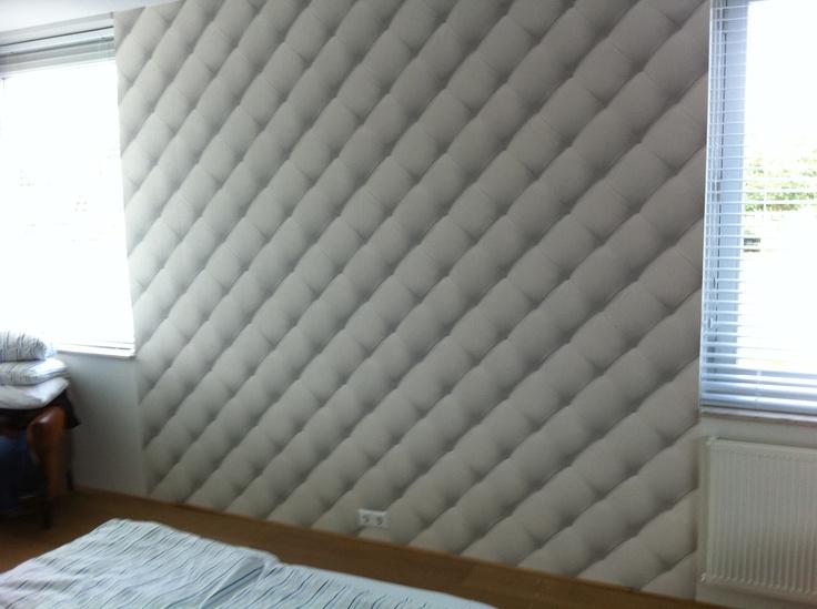 Slaapkamer behangen achter bed  Behang / foto behang / Full color ...