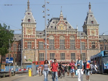 Amsterdam, The Netherlands - Station Centraal (Train Station)