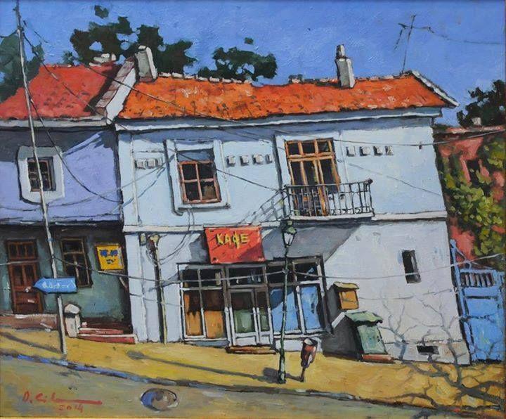 Albastru de Balcic – David Croitor  1,820.00lei  Titlu: Albastru de Balcic  Autor: David Croitor Tehnică: ulei pe pânză Dimensiuni: 44 cm x 54 cm Preț: 1820 lei