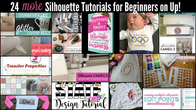 22 Silhouette CAMEO Tutorials, Tips and Tricks for Beginners on Up! | Silhouette School | Bloglovin'