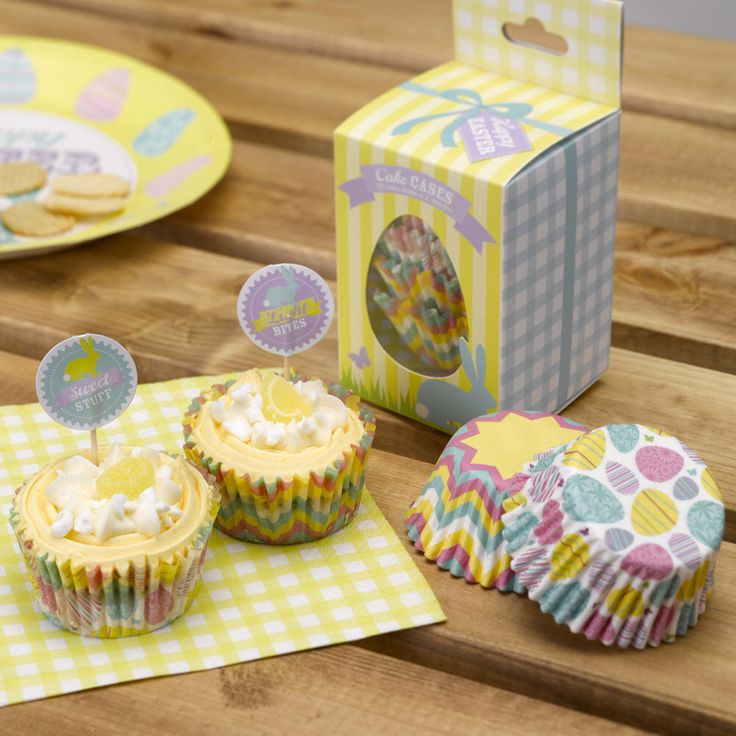 Easter cupcake cases oh so cute from www.fuschiadesigns.co.uk