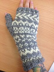 Re-invented Shepherds Delight Mittens   by Vanessa Townley