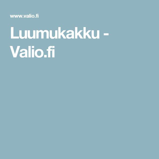 Luumukakku - Valio.fi