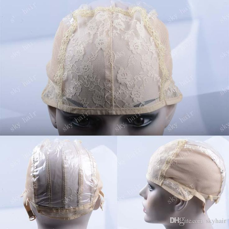 Gluess Wig Caps For Making Wigs Only Stretch Lace Weaving Cap Adjustable Straps High Quality Guarantee French Lace Monofilament Wig Cap Upart Wig Caps From Skyhair, $7.04| Dhgate.Com