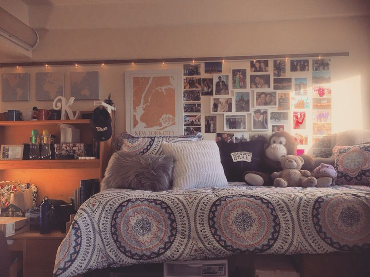 University of Pittsburgh dorm room