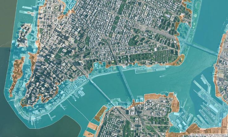 Once-#Rare #Flooding Could Hit #NYC Every 5 #Years with #Climate #Change, Study Warns --------- ➡ https://insideclimatenews.org/…/nyc-sea-level-storm-surge-c… http://www.wfmz.com/…/study-new-york-city-could-s…/643948180 --------- #Photo: New York City was worried about sea level rise when it issued new recommendations this year that future buildings  and other structures that are expected to last through the end of the century be raised 3 feet above current requirements.  Credit: #FEMA…