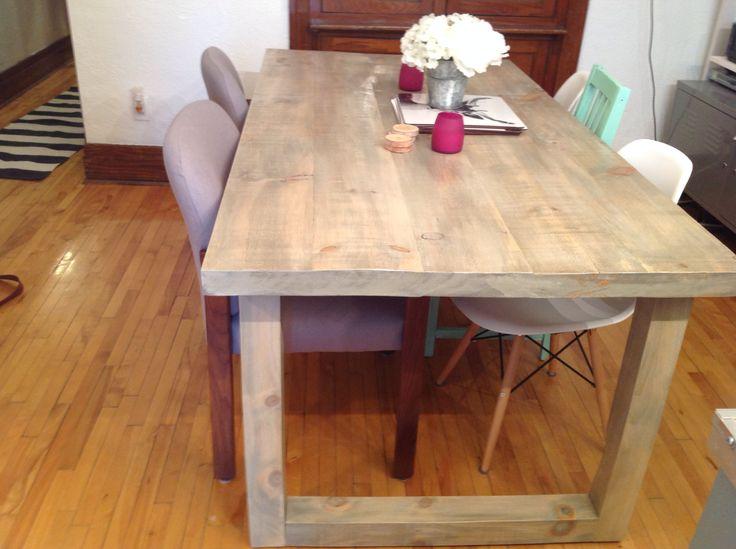 Rustic table - Au Chalet Vintage