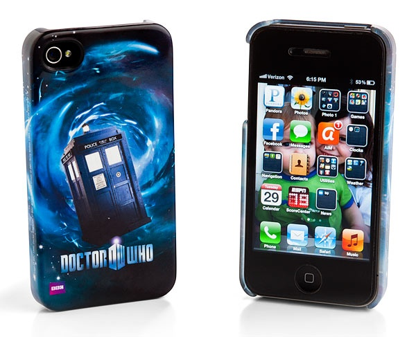 ThinkGeek :: Doctor Who iPhone Cases