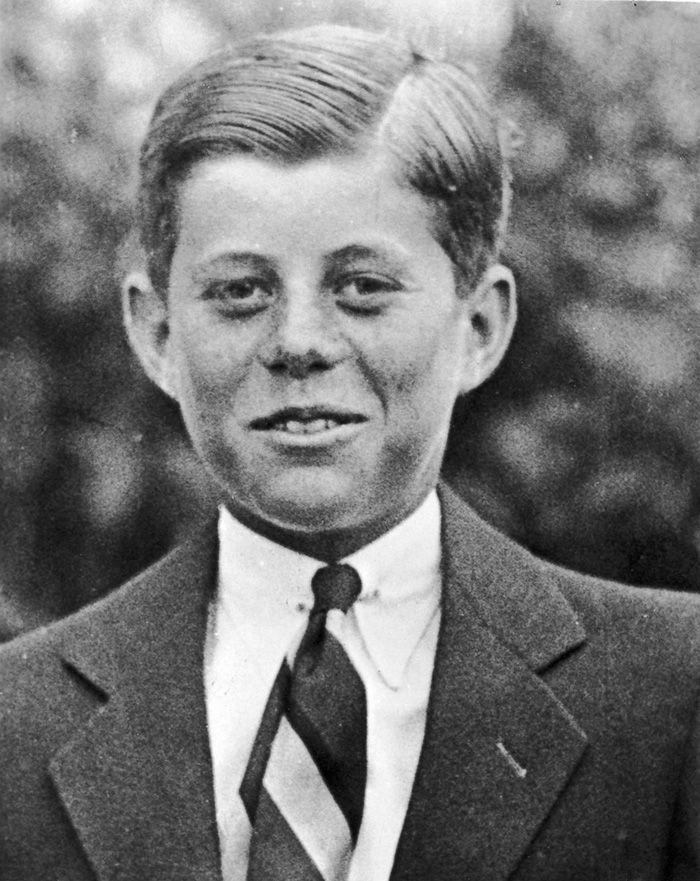 Imagens incríveis de líderes mundiais na juventude