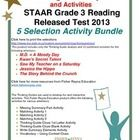 These classroom tested products include the complete analysis, color-coded summary, and activities for the Grade 3, STAAR released test selections:...