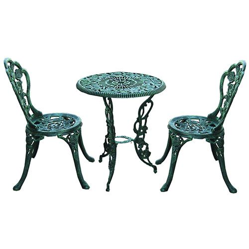 Wrought Iron Bistro Set | Cheap Iron/Metal Bistro Sets For Sale, Best Cast