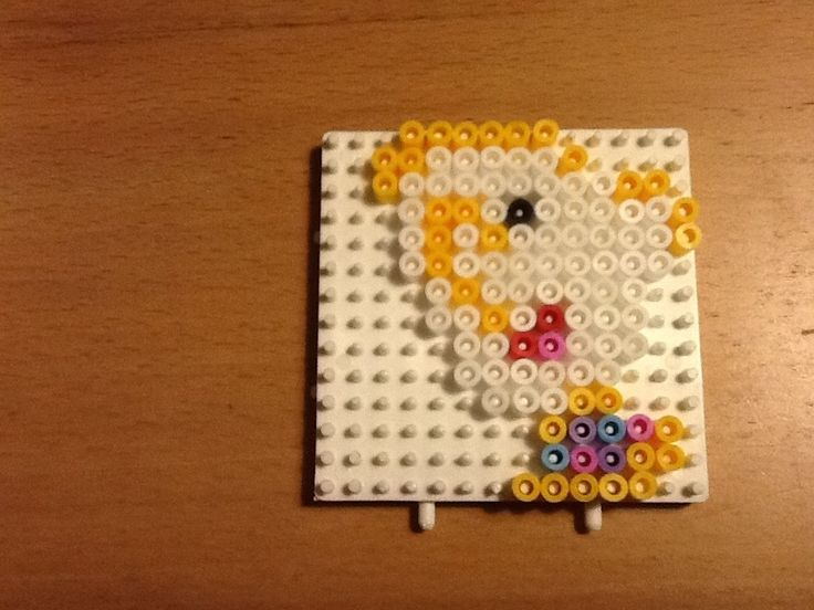 Chip The Beauty and the Beast hama beads by Randi Frederiksen