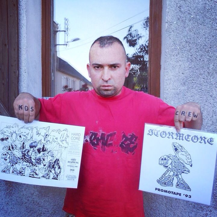 "STORMCORE ""Promotape '93"" out now on 10"" vinyl on Hardcoretrooper Records !"