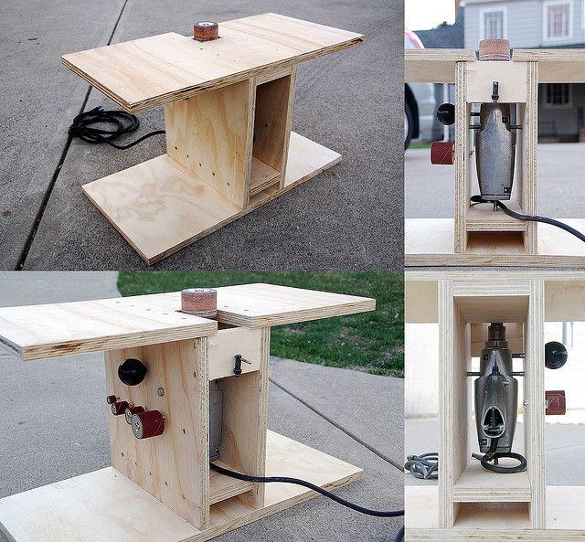 DIY Spindle Sander using a Hand Drill | Flickr - Photo Sharing!
