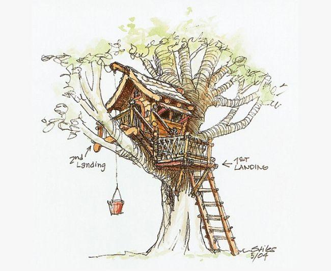 childrens tree house