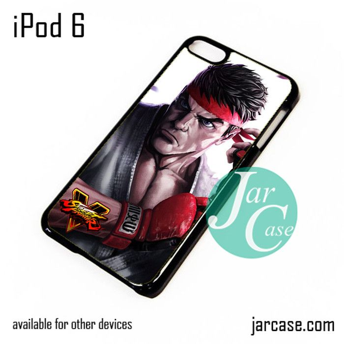 Street fighter 5 Game Ryu iPod Case For iPod 5 and iPod 6