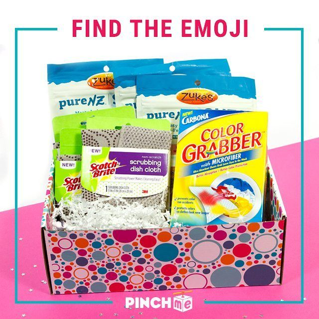Can you find the emoji in the PINCHme box?! Put your answer in the comments! No cheating!