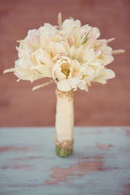 Bride's Bouquet - Parrot Tulips