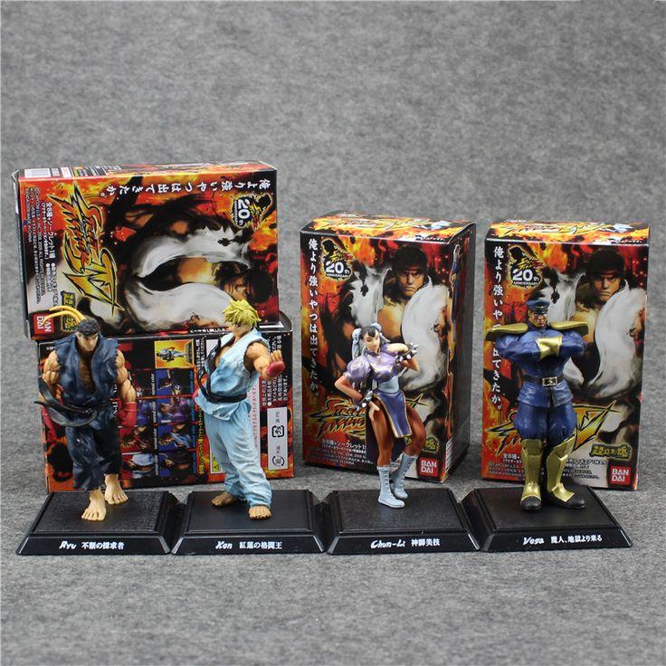 Эка mp3-плеер-выберите уличный боец IV выживания модель рю кен чун ли вега / m. Бизон классических игр фигурку игрушки куклы аниме