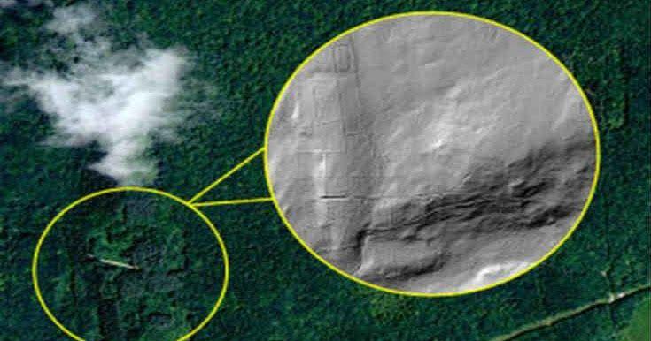 Η Nasa ανακάλυψε τα ερείπια μιας χαμένης αρχαίας πόλης κάτω από δάσος στην Οκλαχόμα [Βίντεο]