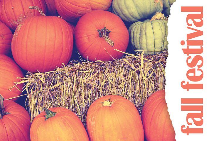 Pumpkin Fall Festival Invitation | Church Marketing | Christian Fall Festival | Postcards & Greeting Cards