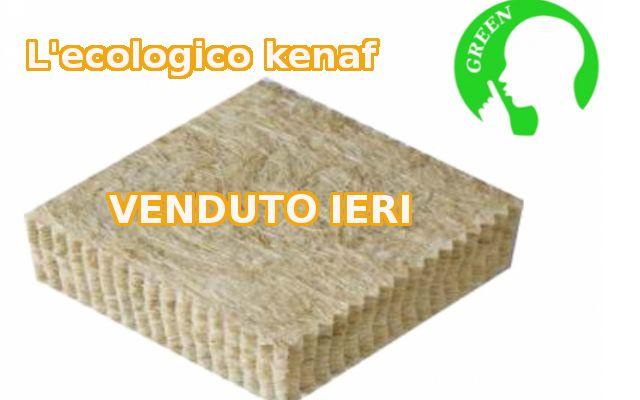 Ecologico,economico e ti fa risparmiare. E' il kenaf. Compralo su www.lantirumore.it